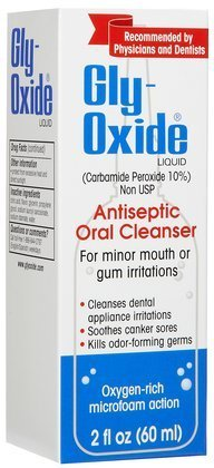 Gly-Oxide Liquid Antiseptic Oral Cleanser-2 oz. (Quantity of 3)