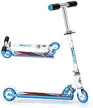 VTANMS Scooter for Kids, Kick Scooter for Girls & Boys, 3 Adjustable Height, Rear Fender Break, 5lb Lightw