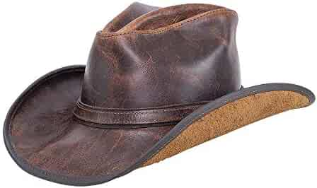 edcd22aff43203 American Hat Makers Cyclone by Double G Hats Western Cowboy Leather Hat