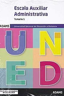 Auxiliares Administrativos Uned -Temario: Amazon.es: VV.AA ...