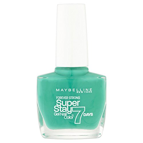 Maybelline Forever Strong Super Stay 7 Days Nail Polish Forevermore Green 10ml by Maybelline (7 Day Nail Polish)