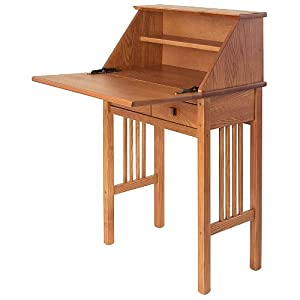 Amazon.com: Manchester Wood Mission Secretary Desk ...