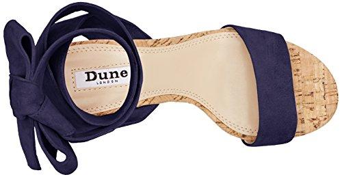Dune Damen Jonee Ankle Strap Heels Blau (Navy)