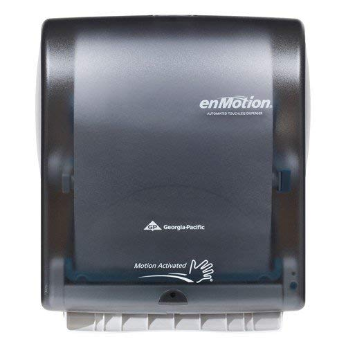 (Georgia Pacific Enmotion 59462 Classic Automated Touchless Paper Towel Dispenser, Translucent Smoke (Renewed))