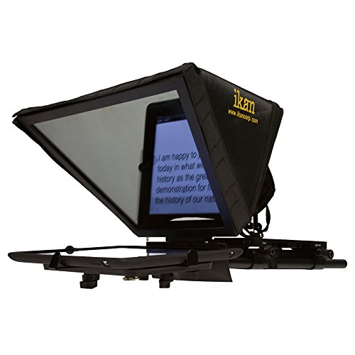 Ikan PT-ELITE-U Elite Universal Tablet Teleprompter Kit (Black) image