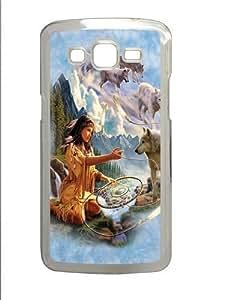 Dreams of the Wolf Spirit Custom Samsung Grand 7106/2 Case Cover Polycarbonate Transparent