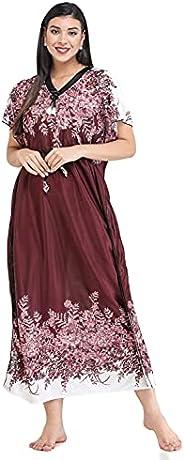 Mikraa Women's Kaftan Tunic Kimono Dress Maxi Style Summer Beach Dress Swimwear Cover Ups Ca