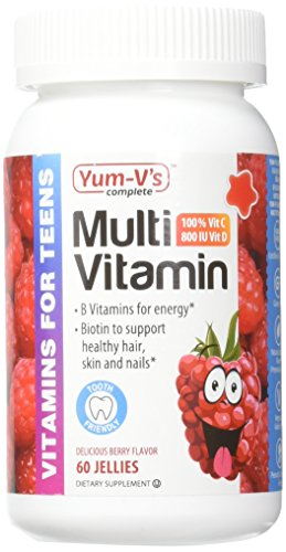 Yum-V's Complete Multivitamin and Mineral for Teens Jelli...
