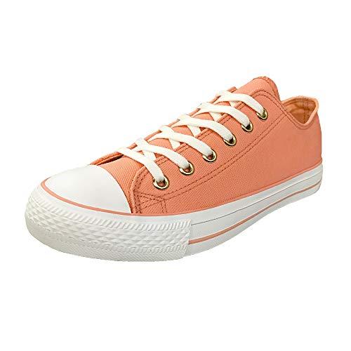 Low Top Lona Moda Pink De Unisex Hotroad Zapatillas 1nAPqwOB