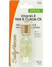 SALLY HANSEN VITAMIN E NAIL & CUTICLE OIL by SALLY HANSEN