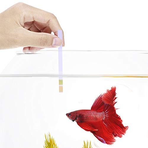 SunGrow pH Test Strip Kit for Bettas and Aquariums, Easy to Use, Easy to Read, Works for pH Range 5.5-9.0, Quick Results…