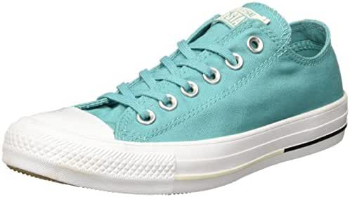 Converse Unisex Climate Counter Canvas Ox Aegean Aqua/Black/Buff Fashion Sneaker