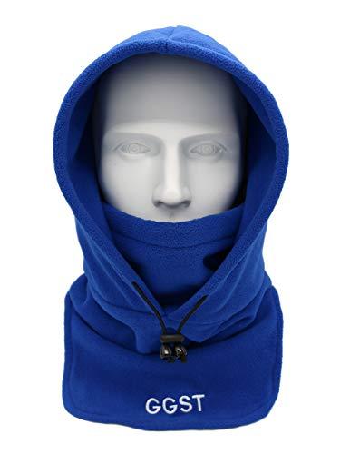 - Balaclava Windproof Ski Mask Winter Thermal Fleece Hood Heavyweight Warm Outdoor Sports Face Hat for Men & Women Blue