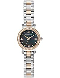Women's Japanese-Quartz Watch with Stainless-Steel Strap, Silver, 9.9 (Model: BG50673003)