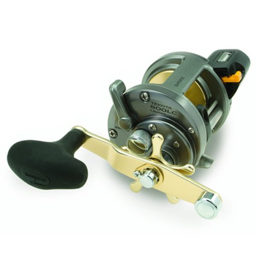 Shimano Tekota 500 Conventional Reel with Line Counter (4.2:1), 14 Pounds/340 Yards, Outdoor Stuffs