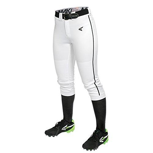 Piped Pants, White/Black, Medium ()