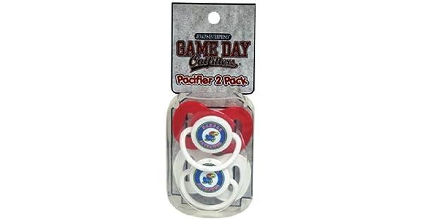 Amazon.com: NCAA Kansas Jayhawks infantil Chupete: Sports ...