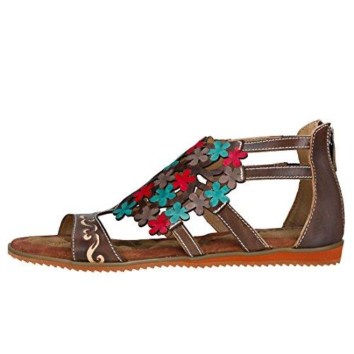 Vita Sandals Womens 7 BRIE07 Laura Taupe RS828 gaCqwHwzx