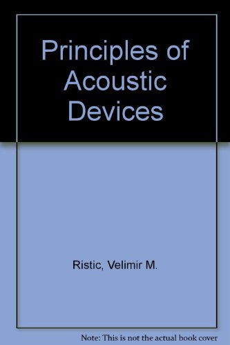 Principles of Acoustic Devices