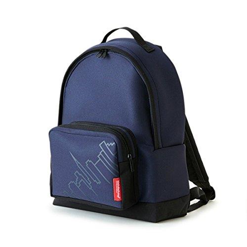 マンハッタンポーテージ(Manhattan Portage) Neoprene Fabric Big Apple Backpack JR ** NVY B07471TC2Q