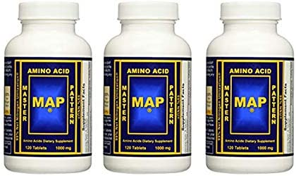 INRC Master Amino Acid Pattern Map Muscle Building Tablet