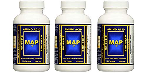 Master Amino Acid Pattern MAP Muscle Building 3 Pack 360 Tablets