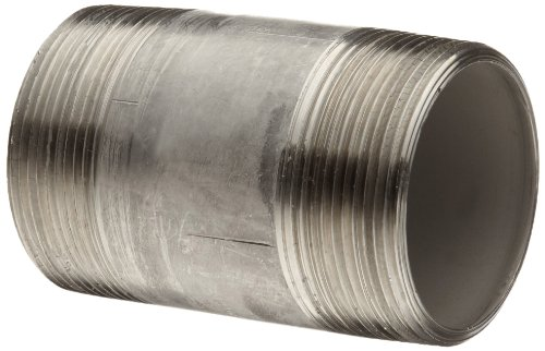 Stainless Steel 316/316L Pipe Fitting, Nipple, Schedule 40, Seamless, 3/4