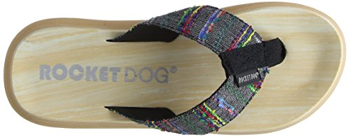 Dog Black Multicolour Tongs Spotlight Rocket Femme dCxXawUqd
