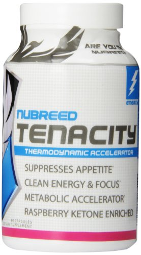 Nubreed Nutrition Tenacity Capsules, 60 Count