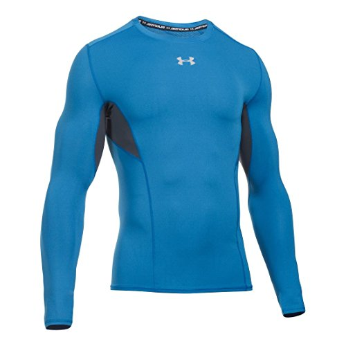 Under Armour Hg Coolswitch Comp Ls - brilliant blue