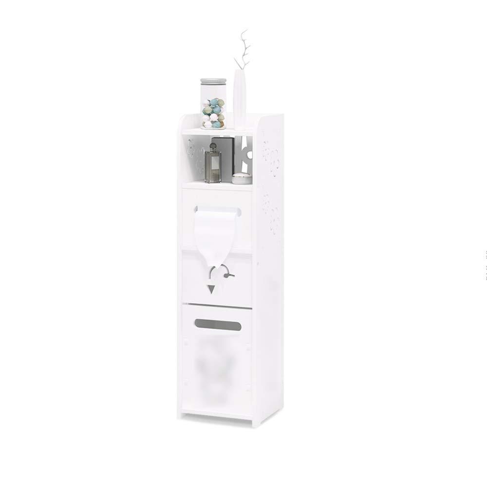 XSJZ 狭いラック 狭いトロリー、バスルームのバルコニーキッチン用キルト多層収納ラック キッチンワゴン (色 : B) B07R8QW86M B