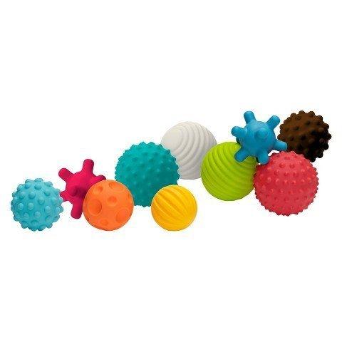Infantino Go GaGa Textured Ball 10-Piece Set