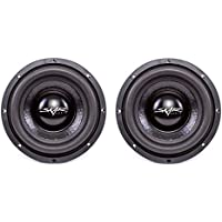 (2) Skar Audio IX-8 D4 8 300W Max Power Dual 4 Subwoofer
