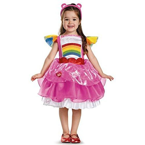 [Disguise 86679L Cheer Bear Deluxe Tutu Costume, Large (4-6x) by Disguise] (Deluxe Cheer Bear Costumes)