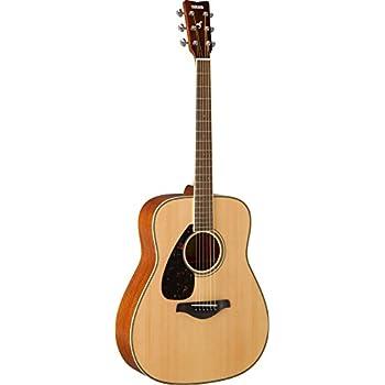 yamaha fg820 left handed solid top acoustic guitar musical instruments. Black Bedroom Furniture Sets. Home Design Ideas