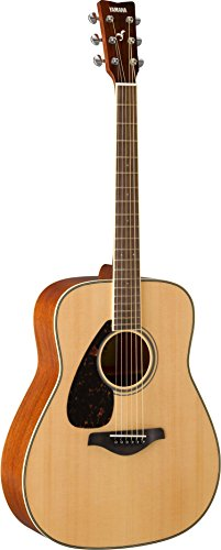 Yamaha FG820 Left-Handed Solid Top Acoustic Guitar
