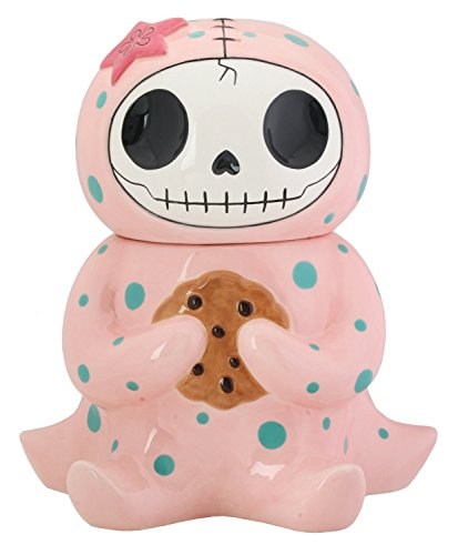 Octopee Octopus Furry Bones Cookie Treat Jar