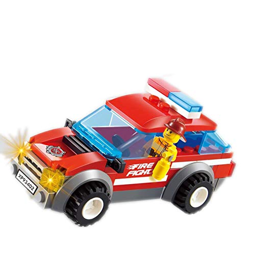 VSG-UF Military Series Fire Fighter Vehicle DIY Building Blocks Bricks Toys for Children Compatible Withings Cars Parts