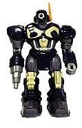M.A.R.S. Motorized Walking Cyber Bot Attack Robot Dark Blue w/Bronze/gold - Polar Captain