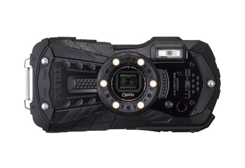 Optio WG-2 (Black, 16MP, Waterproof, Shockproof, 5x, FHD) Pentax Digital Waterproof Camera