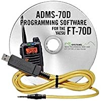 RT Systems Programming Software and USB-57B cable for the Yaesu FT-70D Dual Band Digital HT