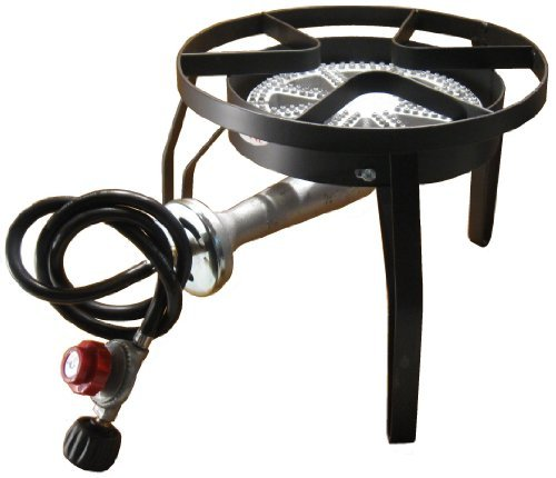UPC 859176005407, High Pressure Outdoor Camping Propane Gas XL Banjo Burner BBQ Stove Cooker with Stand