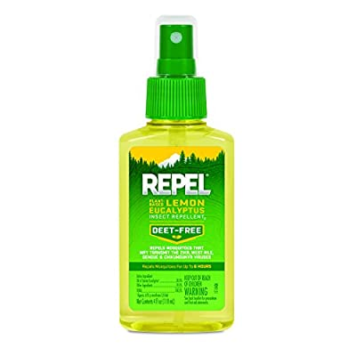 REPEL Lemon Eucalyptus Natural Insect Repellent Pump