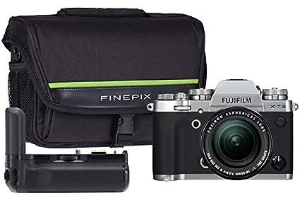 Fujifilm X-T3 - Kit de cámara (Incluye Lente de 18-55 mm, Bolsa ...