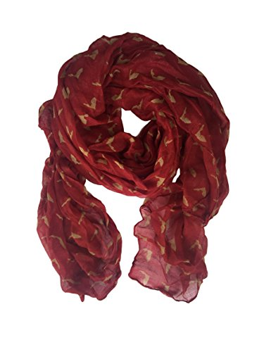 State Louisiana Drapes University (Nouveau State Pride Scarf in College and University Colors (Florida Garnet/Gold))
