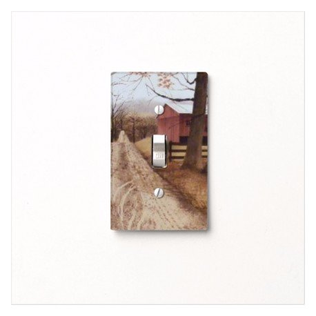 Got You Covered America Barn & Country Road Primitive Light Switch Cover