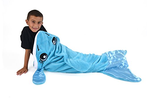 Allstar Innovations Snuggie Tails Dolphin Blanket For (Kitty Sleeping Bag)