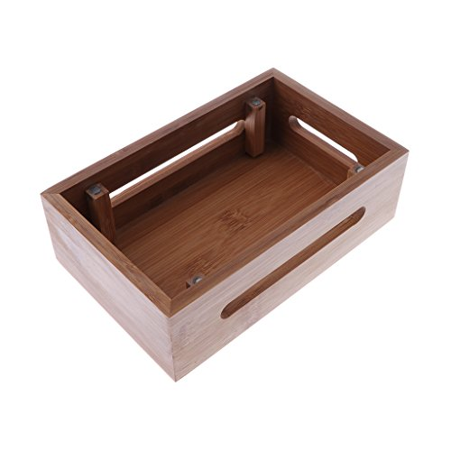 Homyl Bamboo Mobile Phone Holder Mount Station Wooden Desktop Tablet Dock Cradle by Homyl (Image #8)