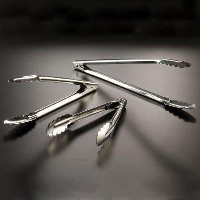 American Metalcraft UT975 Tongs, 9.375' Length x 3.5' Width, Silver