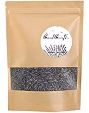 CoolCrafts Dried Lavender Buds 4OZ French Lavender Dry Lavender Flowers for Candle Making, Soap Making, Lavender Bags